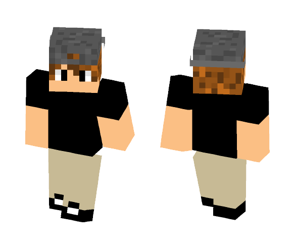 Hat boy - Male Minecraft Skins - image 1
