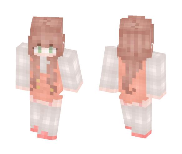♡ Peachy - Female Minecraft Skins - image 1