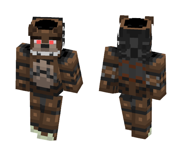 Drawkill Freddy - Male Minecraft Skins - image 1