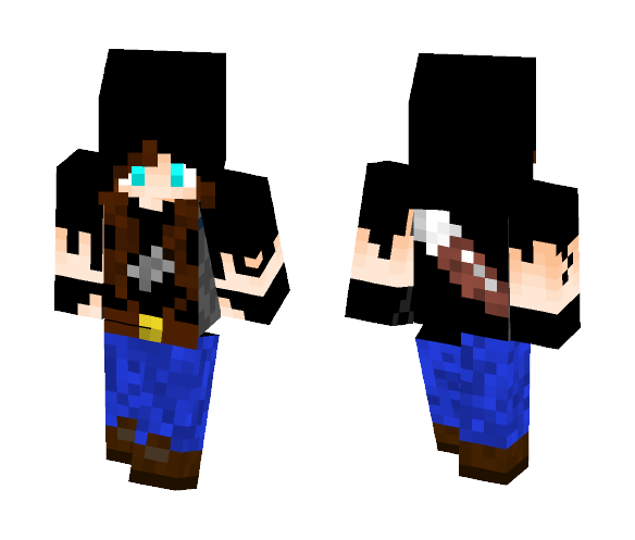 Walking Dead Girl - Girl Minecraft Skins - image 1