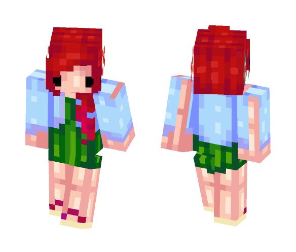 ●ᴥ● Senpai ●ᴥ● - Female Minecraft Skins - image 1