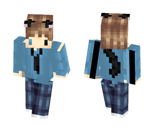 Dextye Neko Person idk - Male Minecraft Skins - image 1