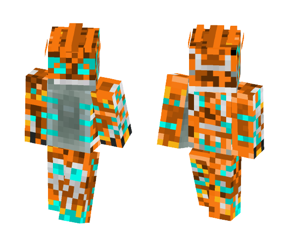 The Inferno Groudon - Male Minecraft Skins - image 1