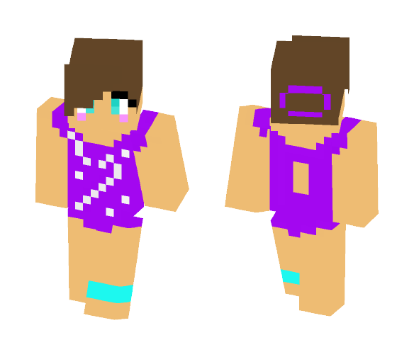Cute Gymnast Girl - Cute Girls Minecraft Skins - image 1
