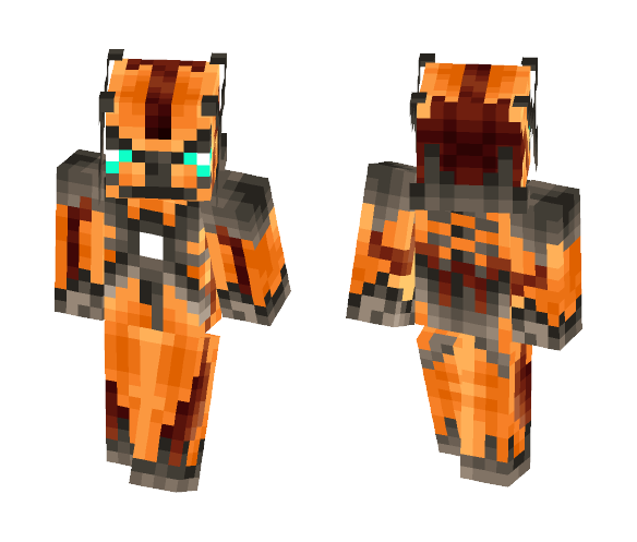 The Aero Dialga - Male Minecraft Skins - image 1