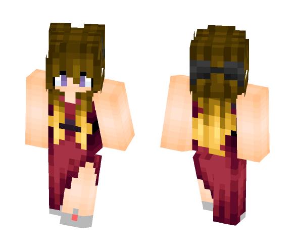 Prom girl (~ ̄▽ ̄)~ - Female Minecraft Skins - image 1