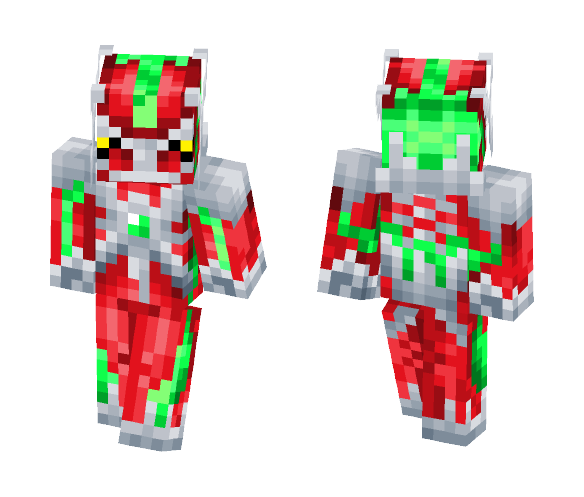 The Blood Dialga - Male Minecraft Skins - image 1