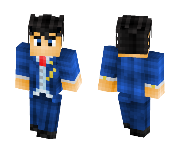Phoenix Wright - Ace Attorney: Dual Destinies (Alternates Included) - Male Minecraft Skins - image 1