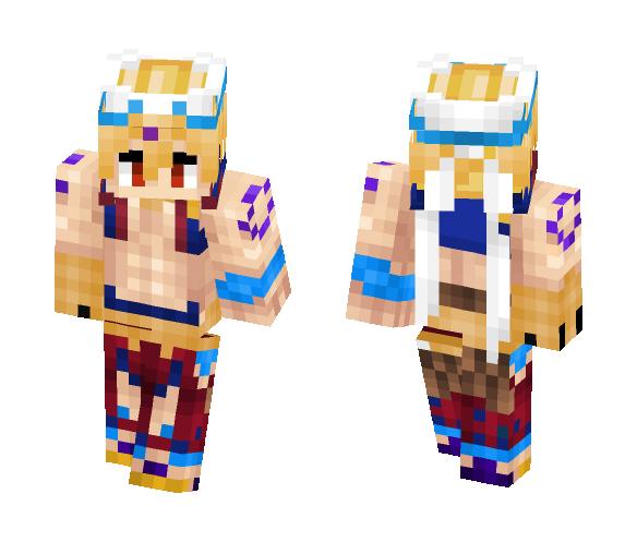 Gilgamesh (Caster) Remake ギルガメッシュ Fate/Grand Order - Male Minecraft Skins - image 1