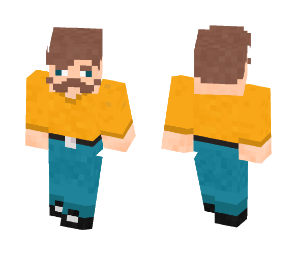 Mr.BAV remake v.2 ( for Zhozhen ) - Male Minecraft Skins - image 1