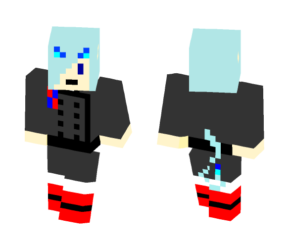 Rin Okumura (Demon Form) - Male Minecraft Skins - image 1
