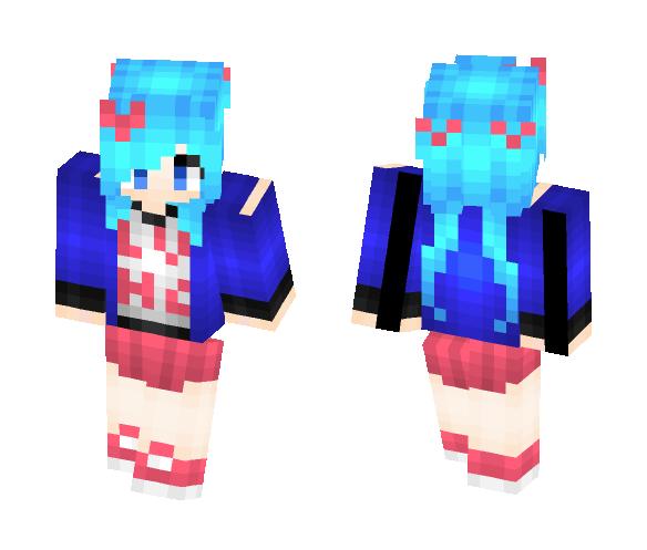Hatsune Miku- Suki Kirai (Like Dislike) - Female Minecraft Skins - image 1